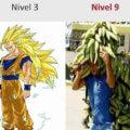 Nivel 3 vs nivel 9