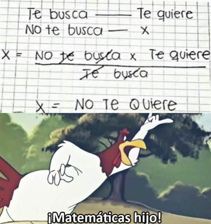 Todo se puede explicar con matematicas
