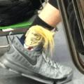 Unos calcetines perturbadores