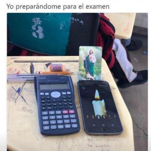 Aca preparandonos para el examen