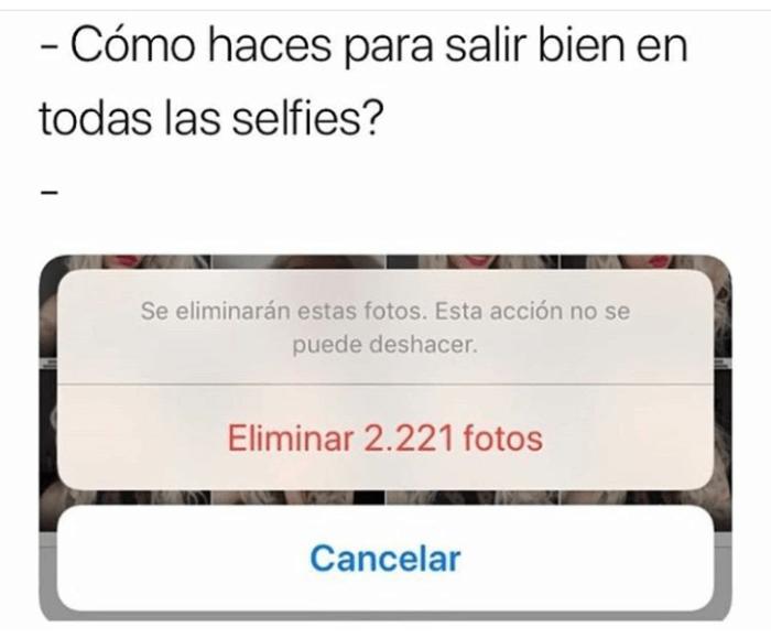 Como haces para salir bien las selfies