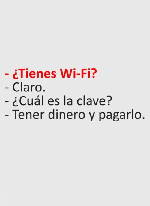 Cual es la clave del Wifi