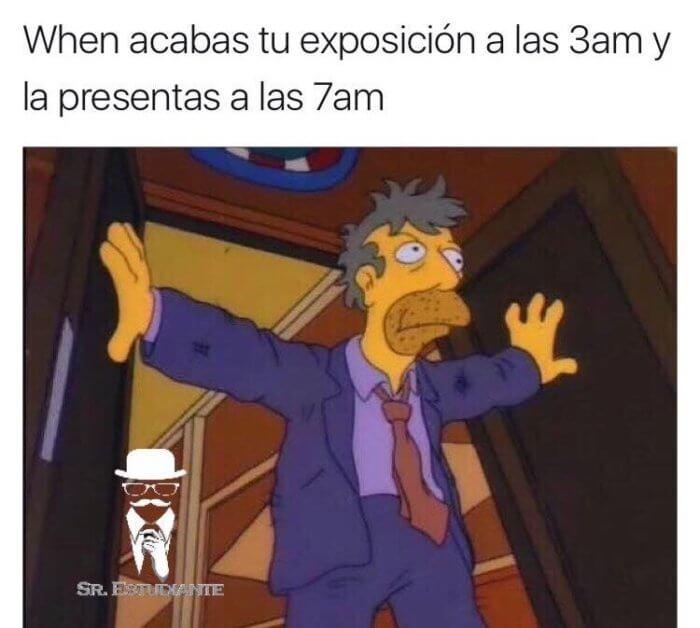 Cuando terminas el trabajo a las 3 am