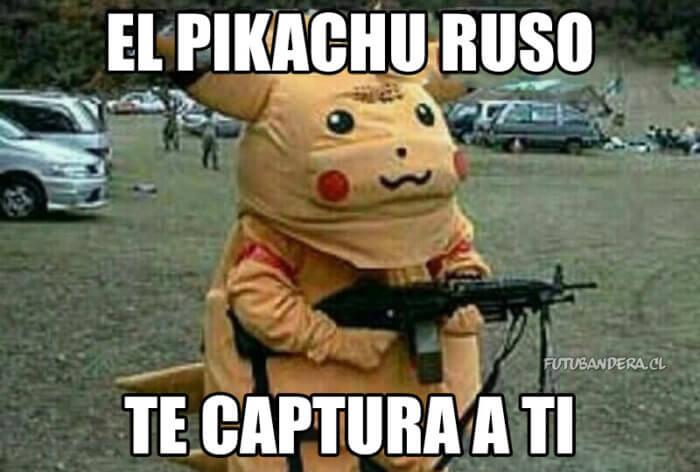 Este es el Pikachu Ruso