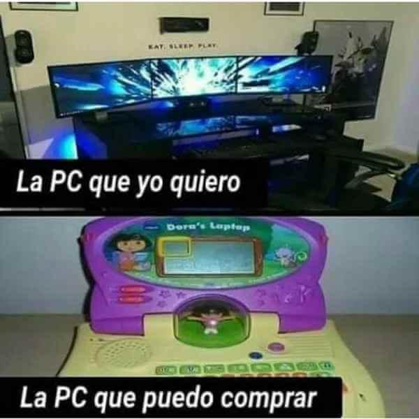 La PC que quiero vs la que puedo pagar