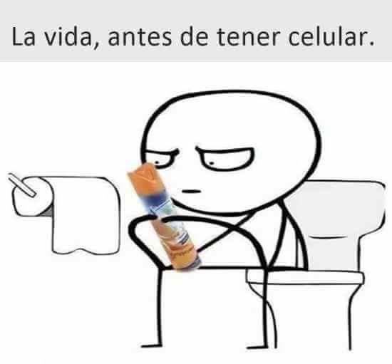 La vida antes de tener celular