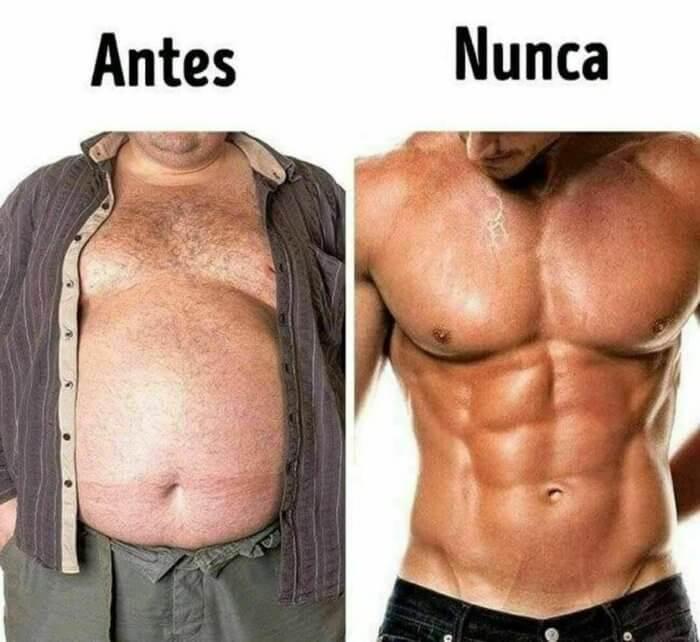 Mi cuerpo antes vs nunca