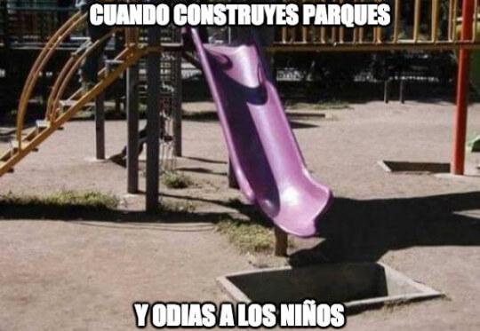 Cuando contruyes parques
