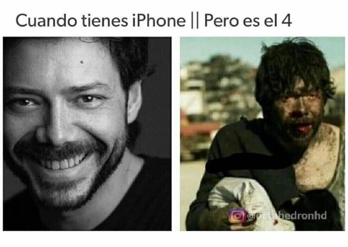 Cuando tienes un Iphone