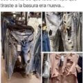 La ropa que botaste en realidad estaba nueva