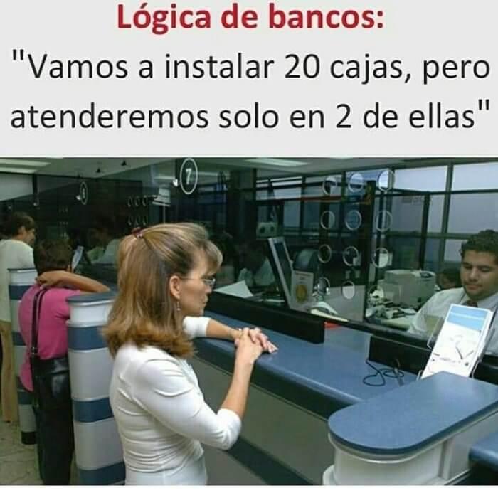 Logica de los bancos