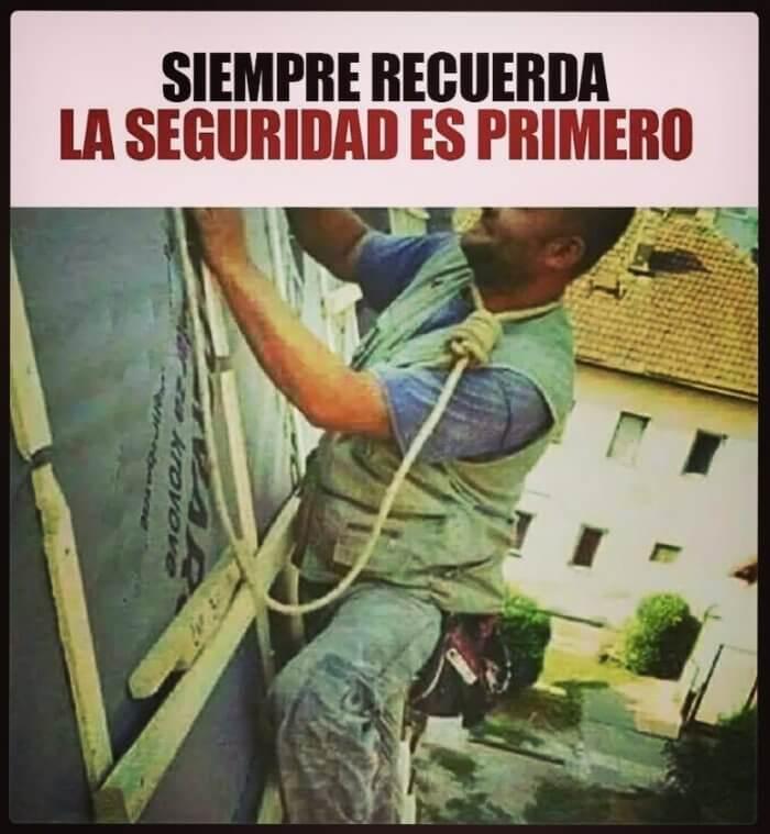 Siempre la seguridad es lo primero