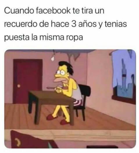 Cuando Facebook te recuerda