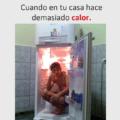 Cuando hace demasiado calor
