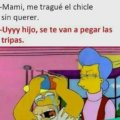 Me trague el chicle