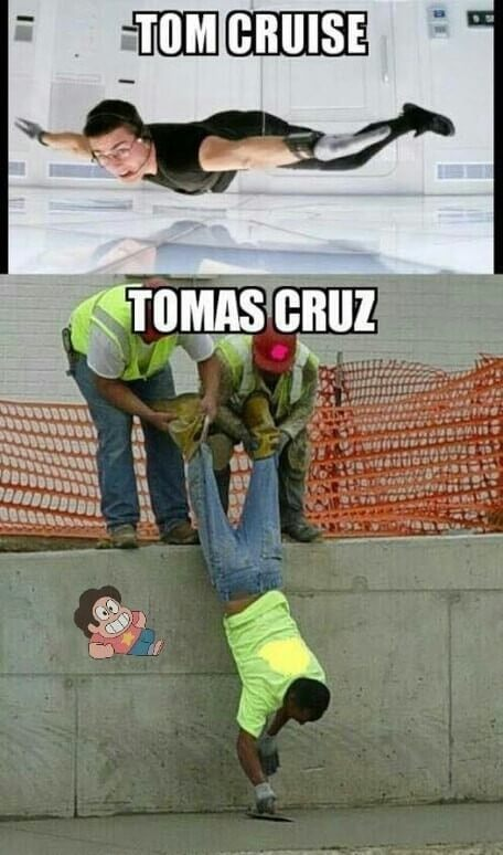 Tom Cruise vs tomas cruz