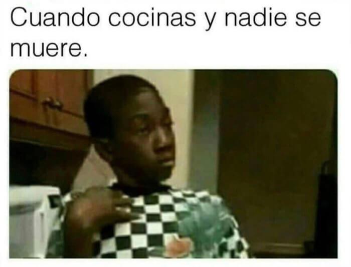 Cuando cocinas