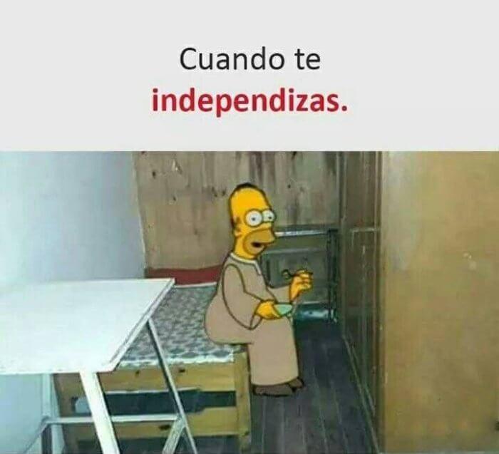 Cuando te independizas