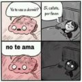 Cuando tratas de dormir