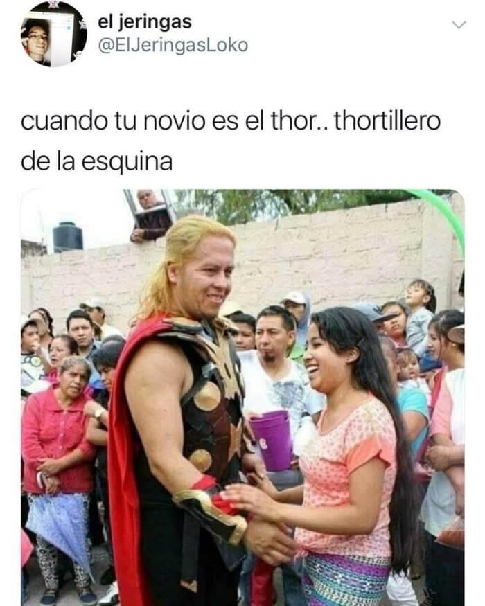 Cuando tu novio es Thor