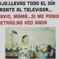 Llevas todo el dia frente al televisor