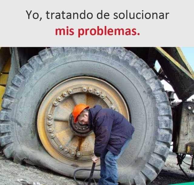 Tratando de solucionar mis problemas