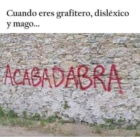 Cuando eres grafitero