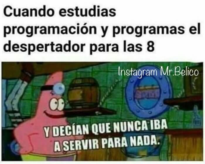 Cuando estudias programacion