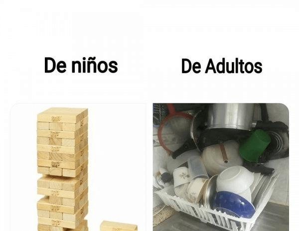De niños vs adultos