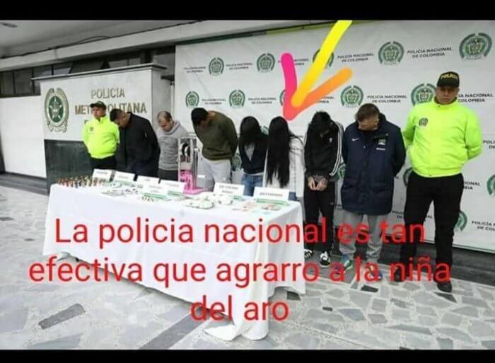 La policia nacional es realmente efectiva