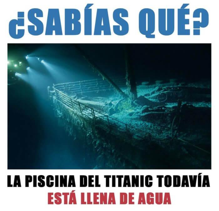 La psicina del titanic