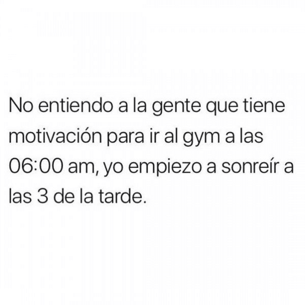Las personas con motivacion