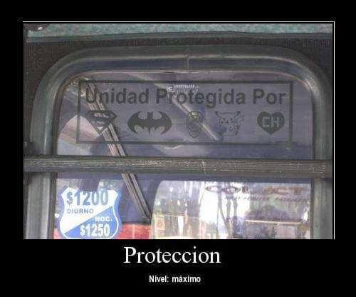 Proteccion nivel maximo