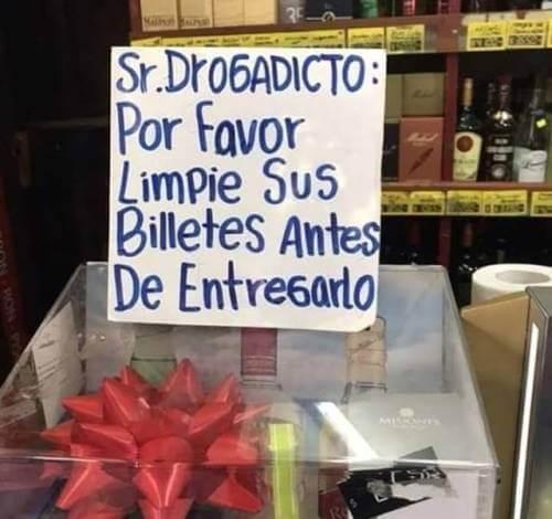 Señor Drogadicto