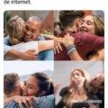 Cuando finalmente conoces a tu amigo de internet