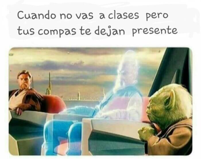 Cuando no vas a clases