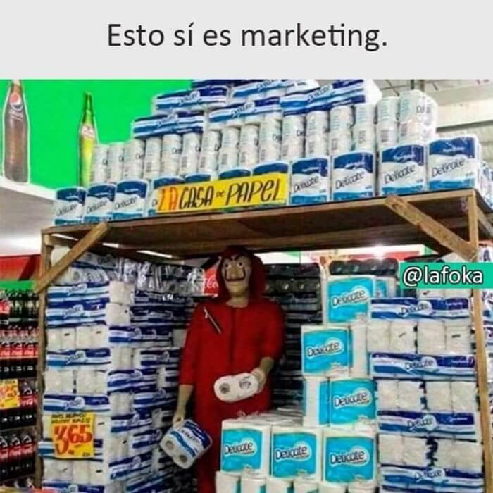 Esto si es marketing