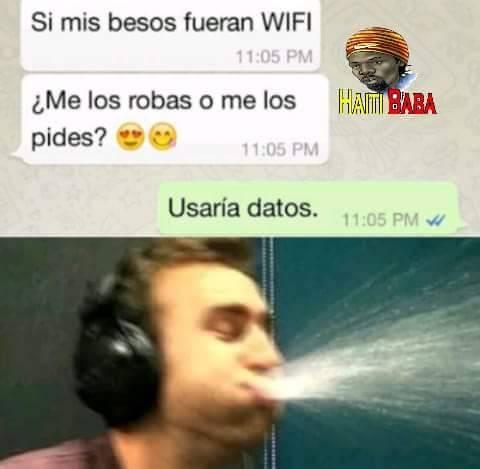 Si mis besos fueran Wifi