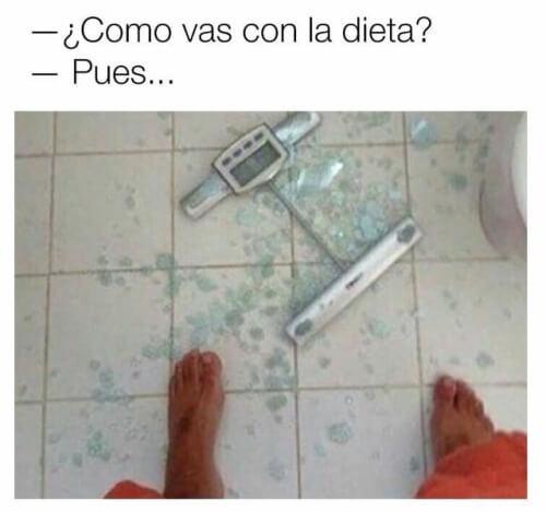 Como vas con la dieta