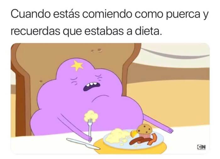 Cuando estas comiendo