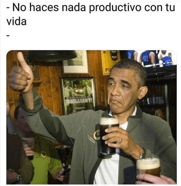 Cuando te dicen que no haces nada productivo