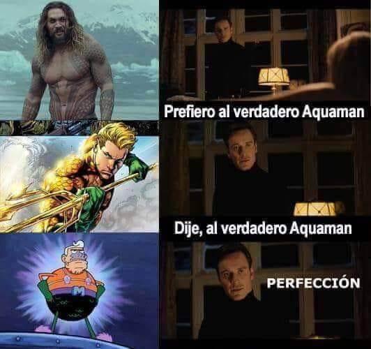 El verdadero Aquaman