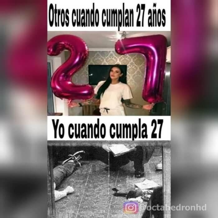 Otros cuando cumplan 27