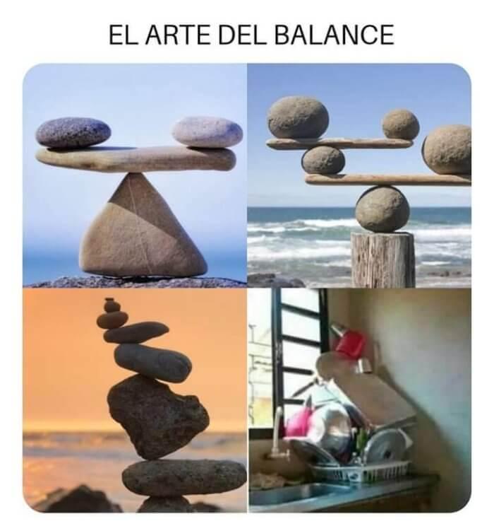 Todos conocemos el arte del balance