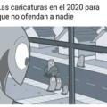 las caricaturas en el 2020