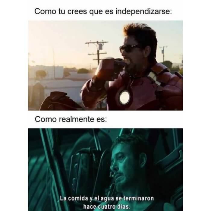 Como crees que es independizarse