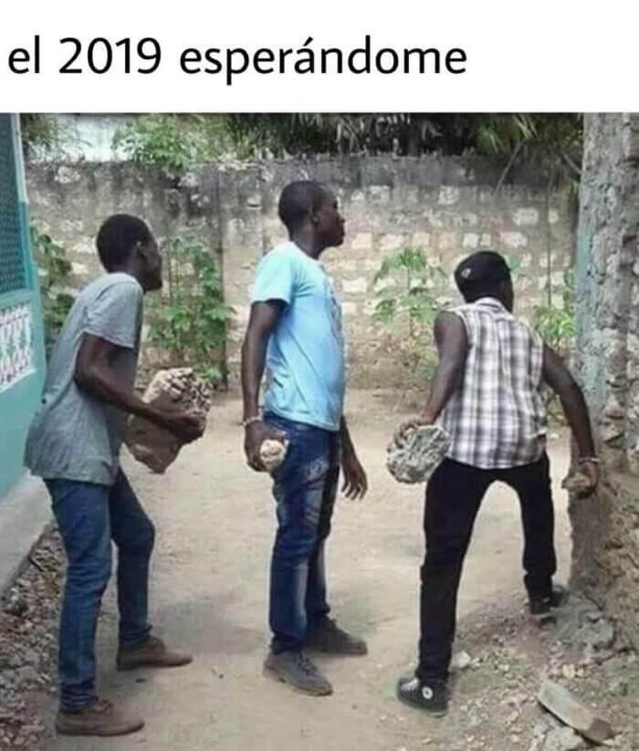 El 2019 esperandome