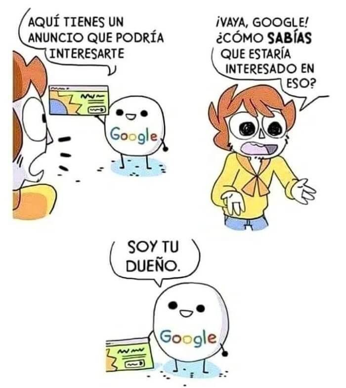 Como sabe tanto Google