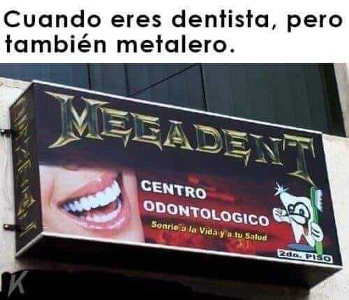 Cuando eres dentista