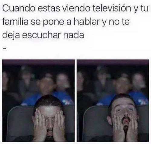 Cuando estas viendo television